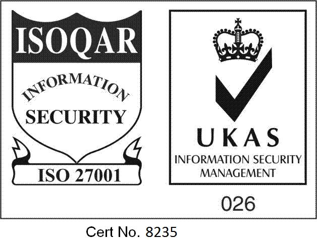 ISO 27001 Cert. No 8235