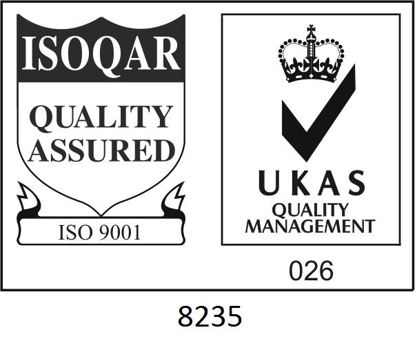ISO 9001 Cert. No 8235